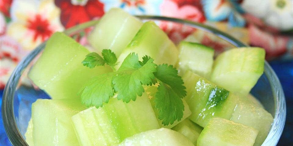 honeydew and cucumber salad recipe