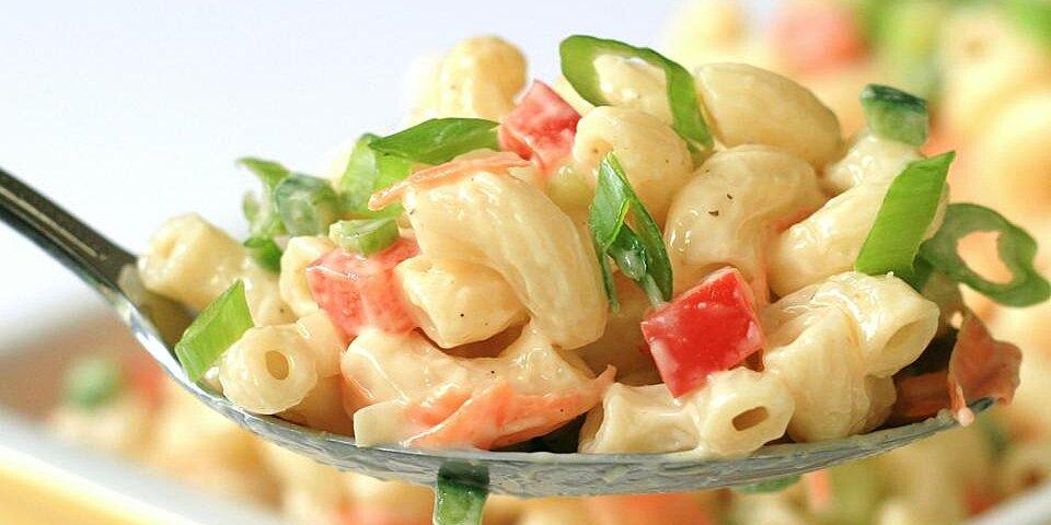 chef johns classic macaroni salad