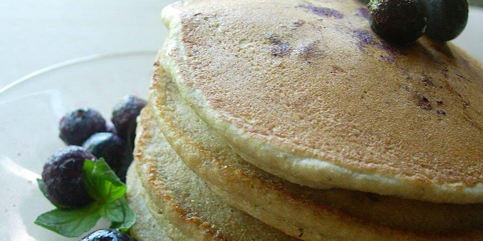 whole wheat blueberry pancakes recipe