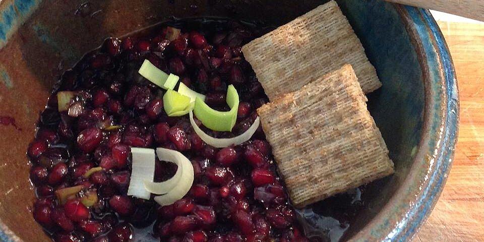 pomegranate relish recipe