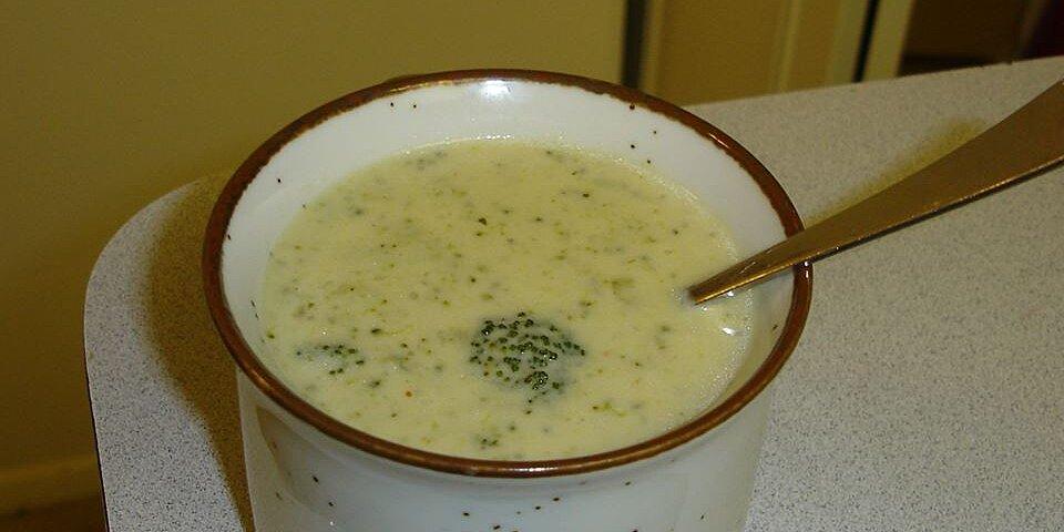 cream of broccoli soup v recipe