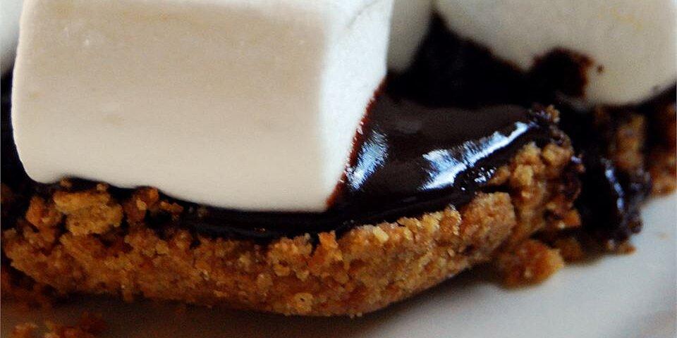 chocolate ganache smores recipe
