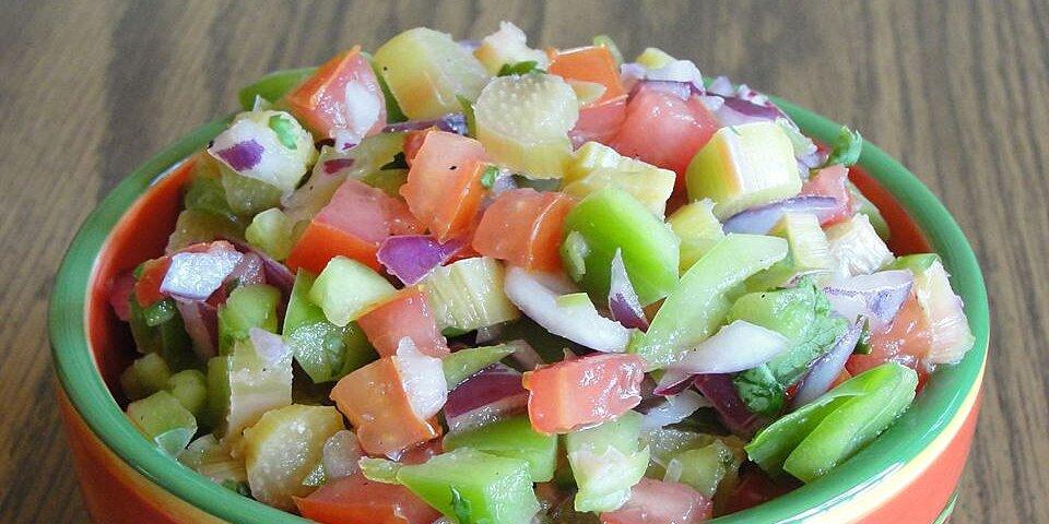 tangy rhubarb salsa recipe