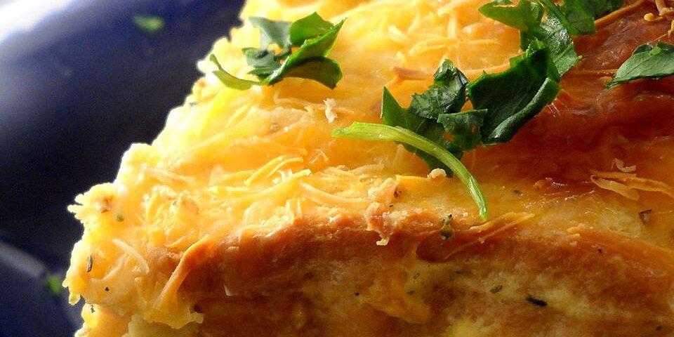 broccoli blue cheese strata recipe