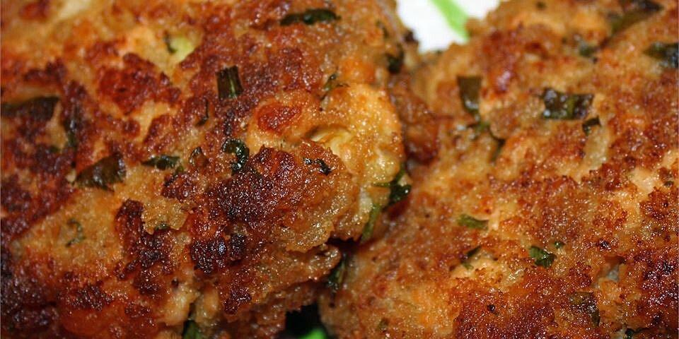 salmon and shrimp cakes recipe