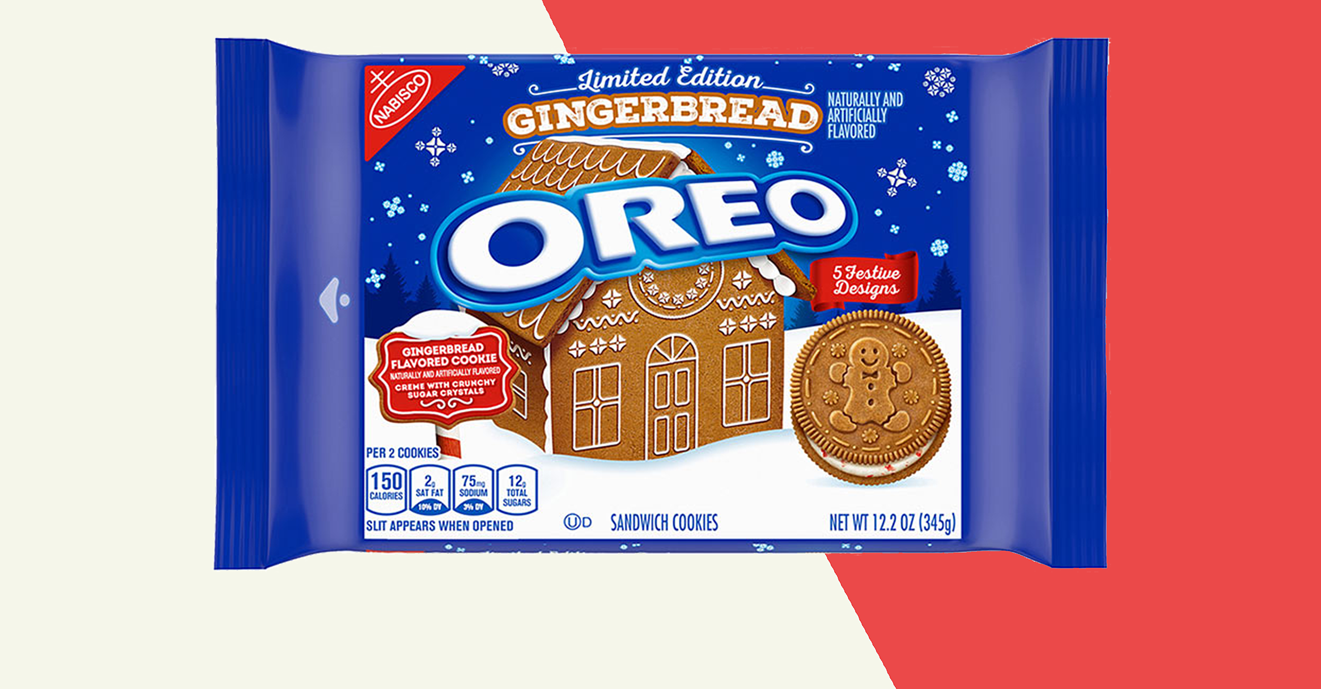 These Gingerbread Oreos Look Just Like Christmas Cookies
