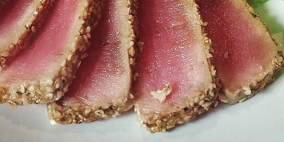 sesame seared tuna recipe
