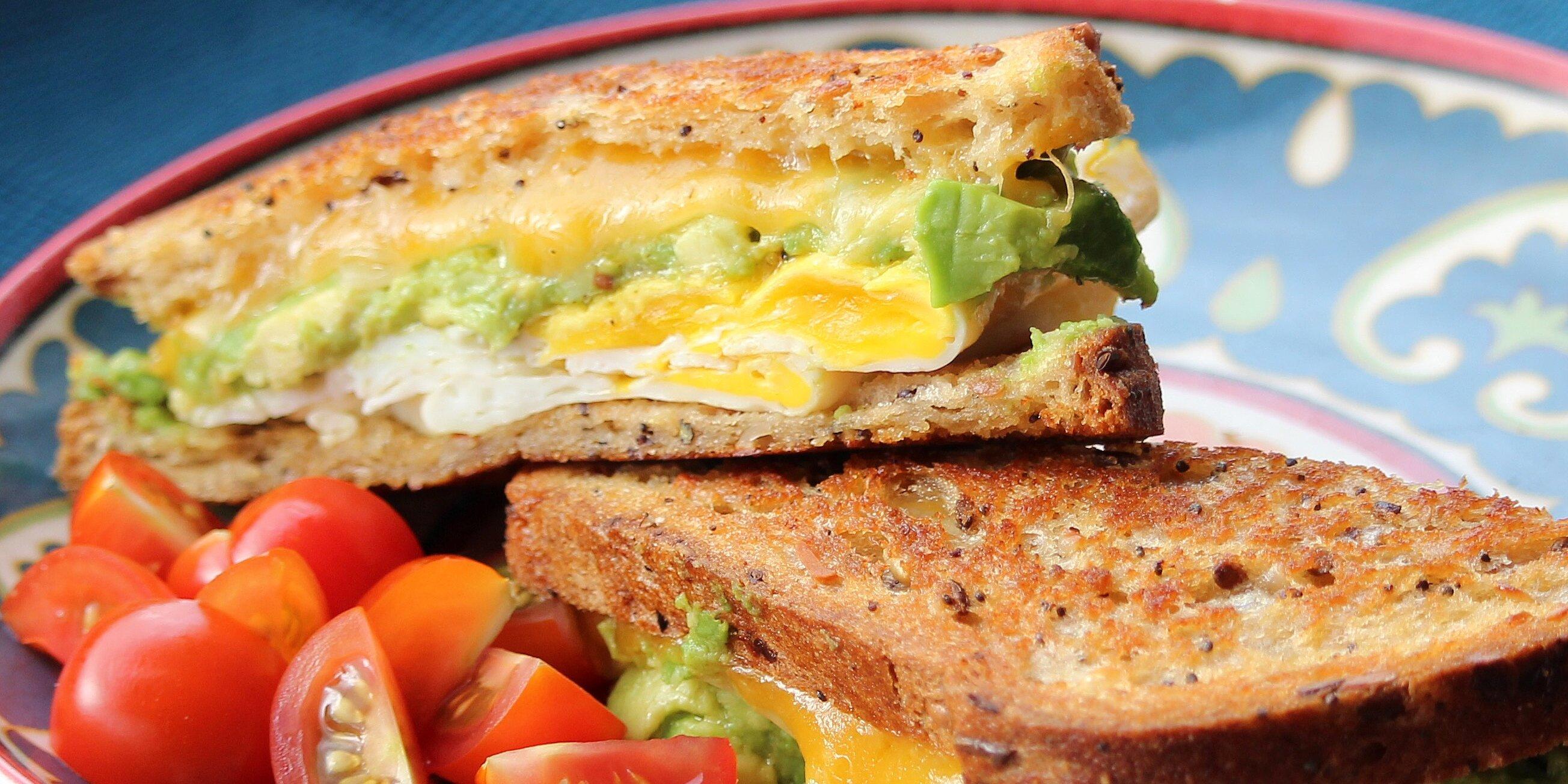 Avocado Breakfast Sandwich Recipe | Allrecipes