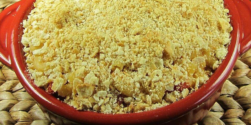 baked tomato mac n cheese casserole recipe