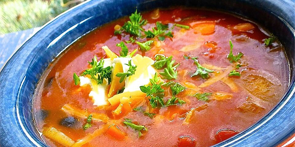 quick spicy tomato soup recipe