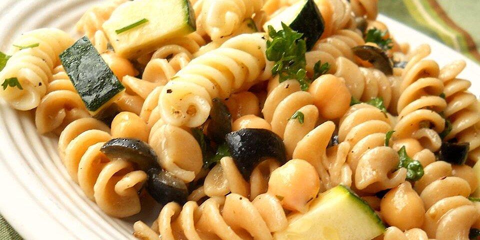 pasta chickpea salad recipe