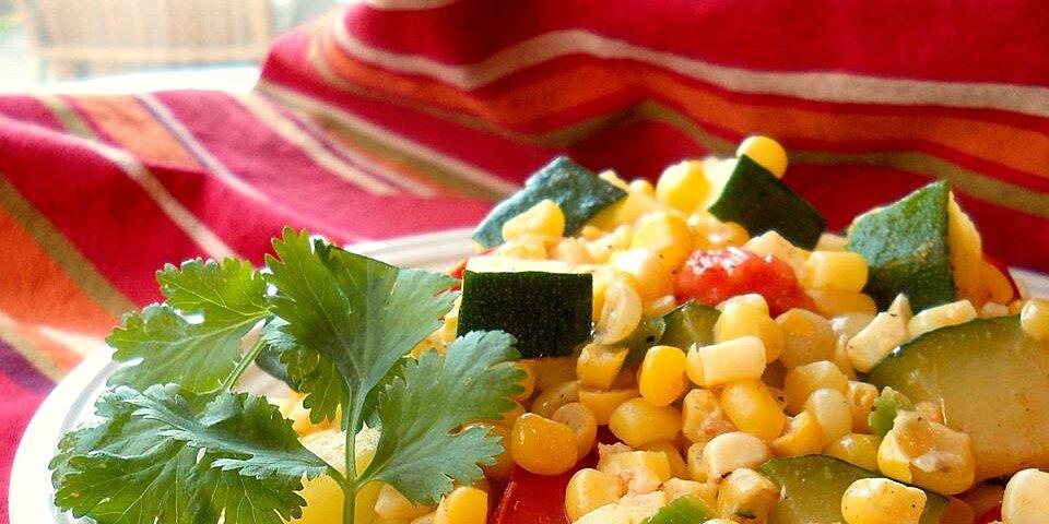 calabacitas con elote zucchini with corn recipe