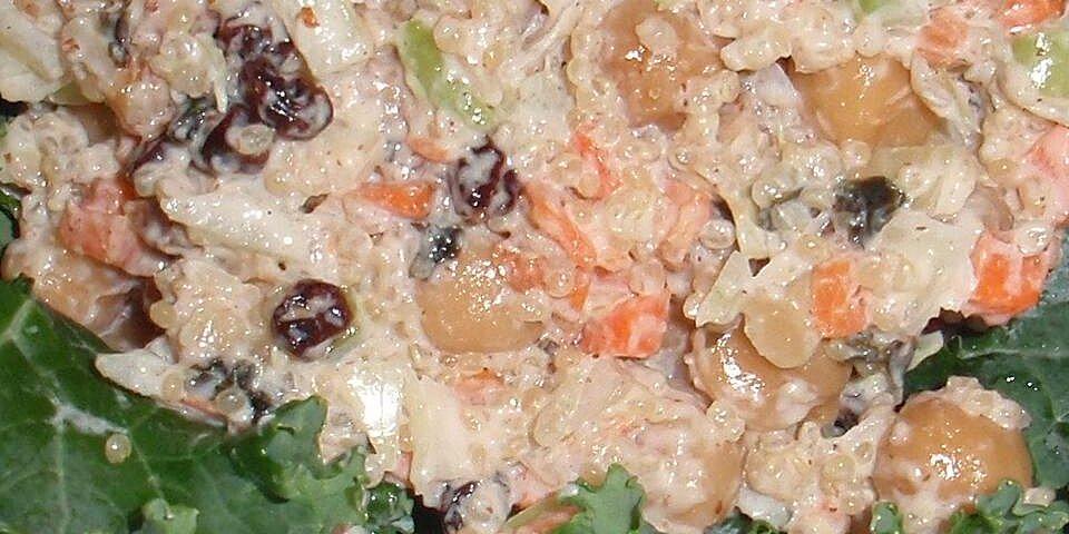 chickpea quinoa mock tuna salad recipe