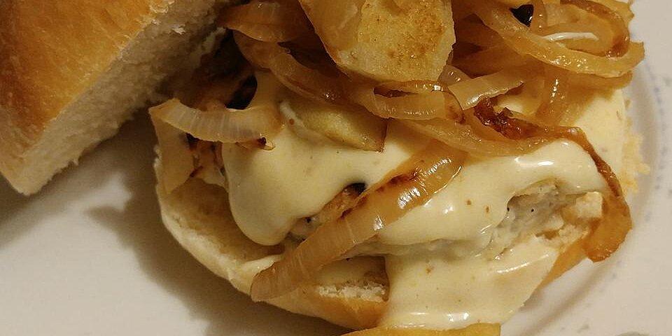 maple apple chicken burgers recipe