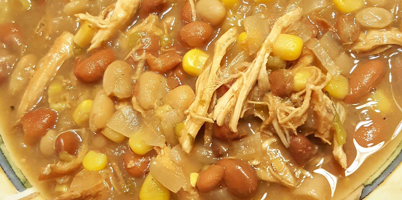 easy slow cooker white chicken chili recipe