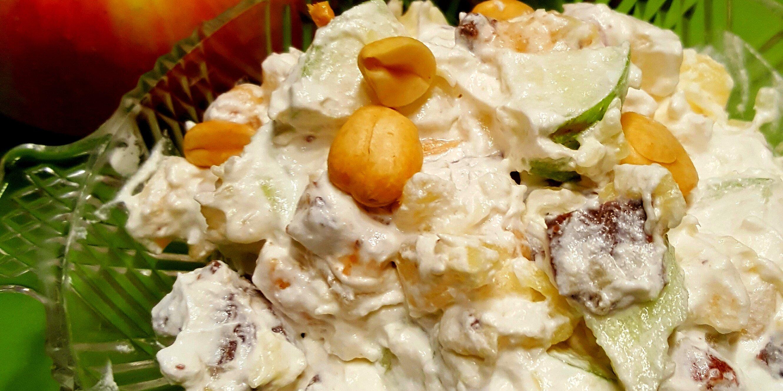 no bake candy apple salad recipe