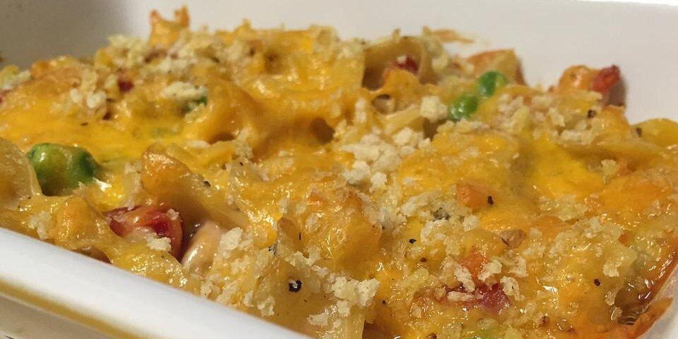 easy cheesy tuna noodle casserole recipe