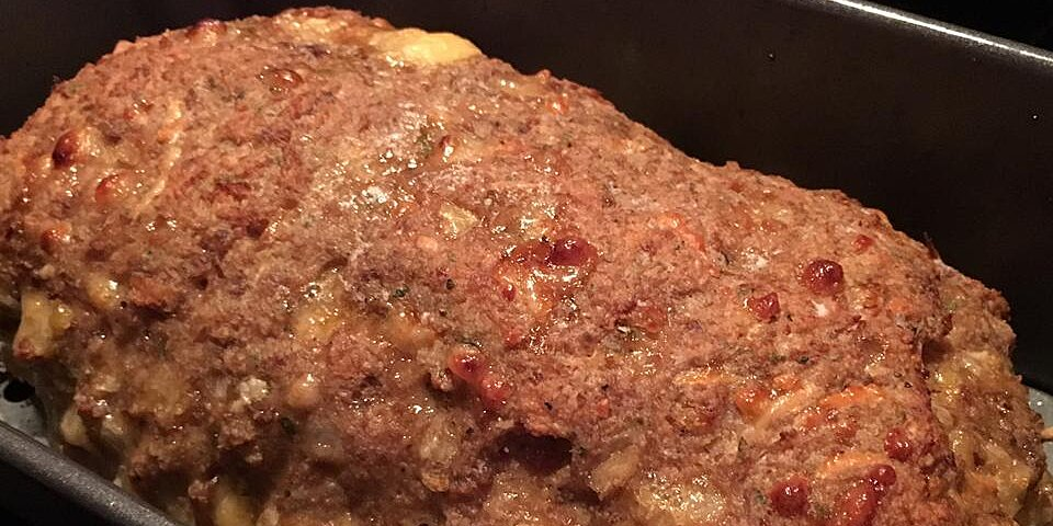 cheesy meatloaf recipe