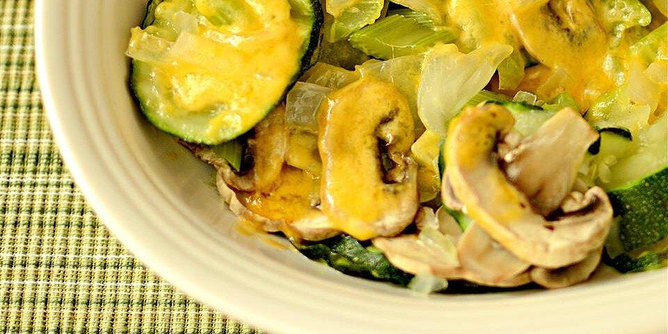steamy microwave zucchini recipe
