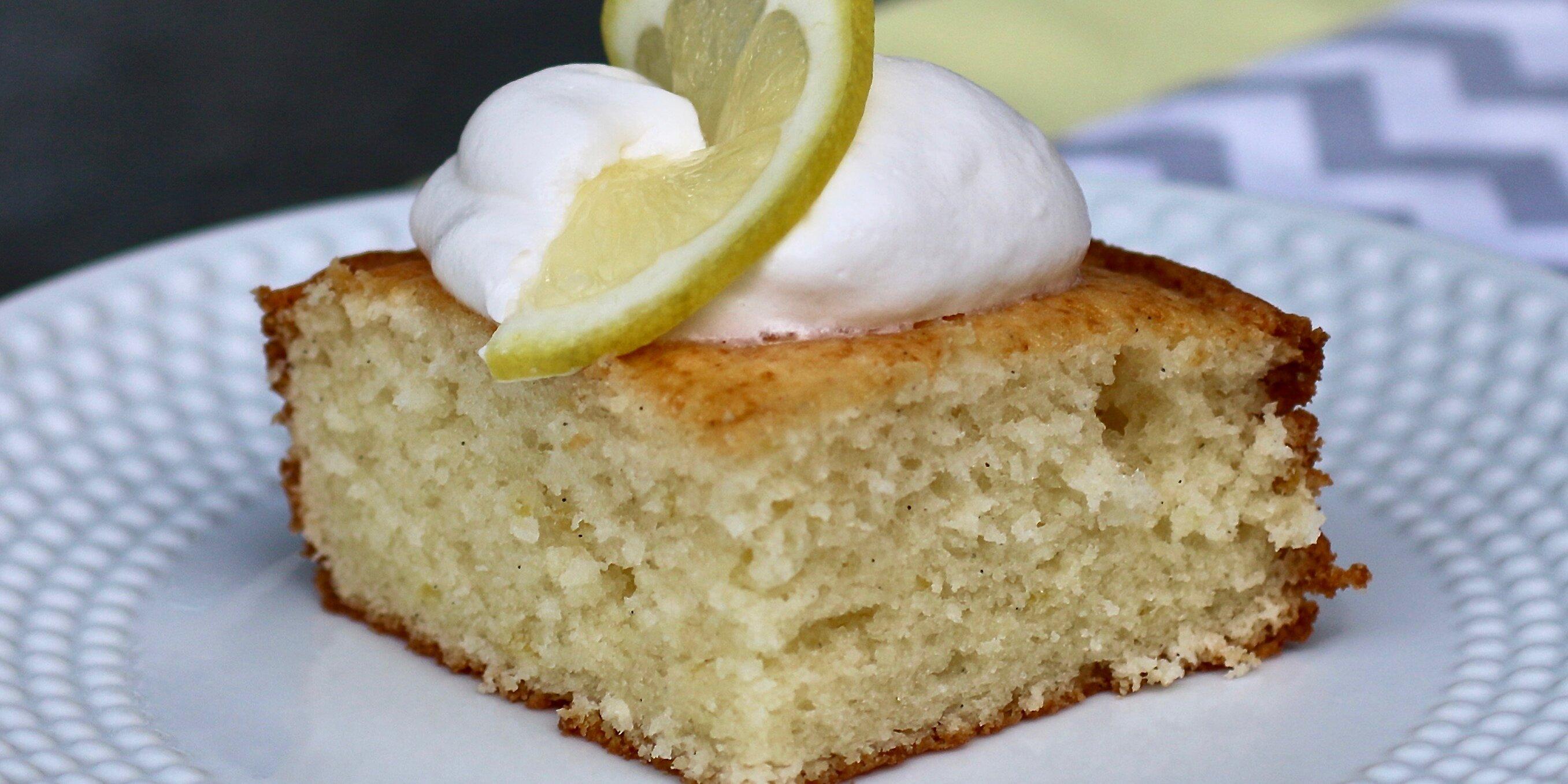 simple lemon cake recipe