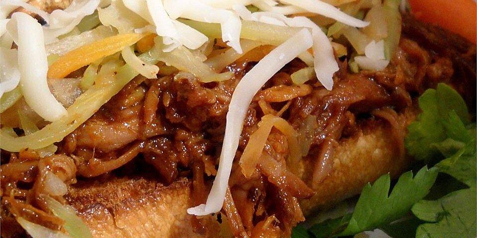 zesty pulled pork sandwiches recipe