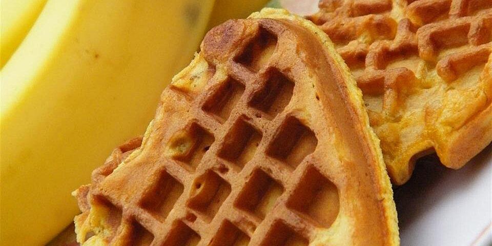 whole wheat banana waffles recipe