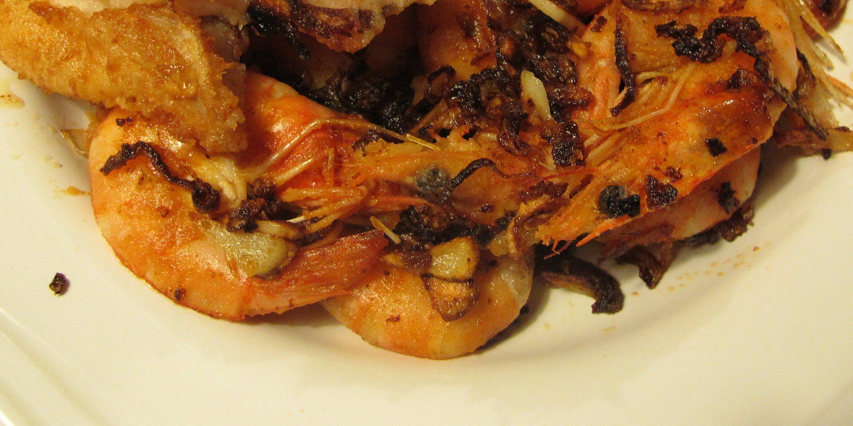 pan fried garlic shrimp recipe