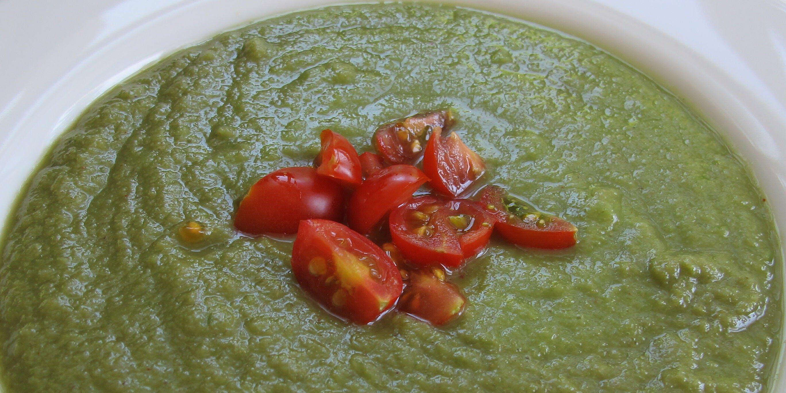 easy green gazpacho recipe