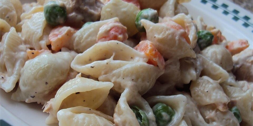no egg tuna macaroni salad recipe