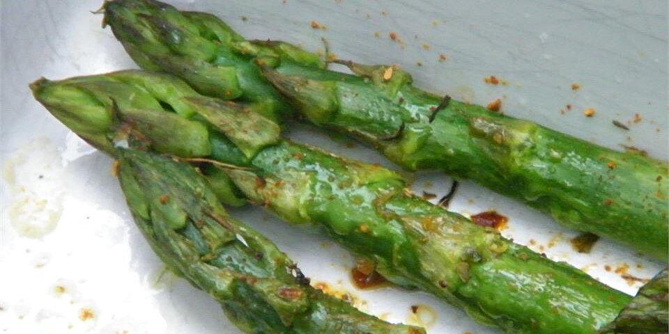 superfast asparagus recipe