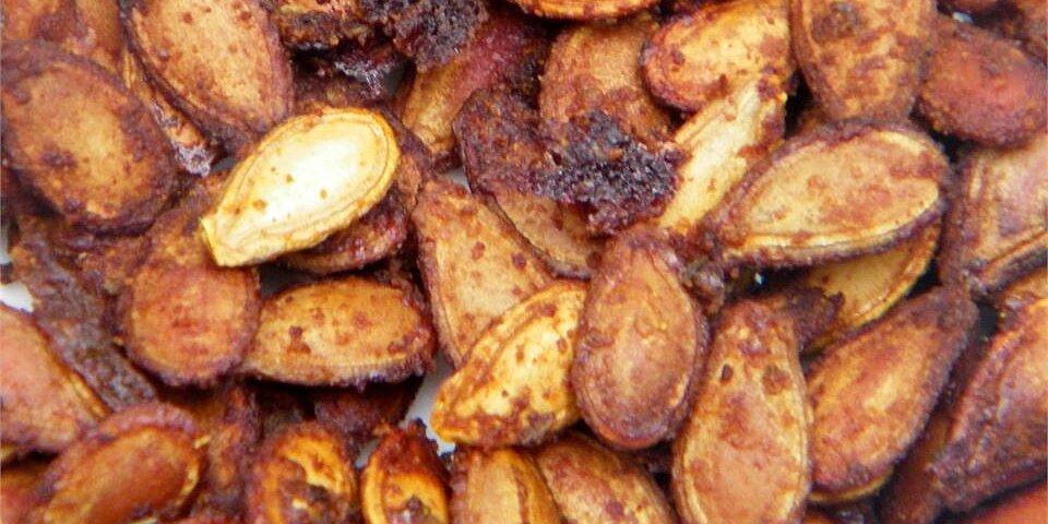 cajun spiced roasted pumpkin seeds recipe
