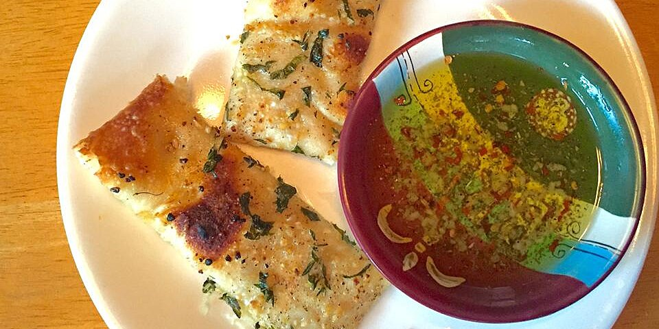 laurielicious garlic herb focaccia bread recipe