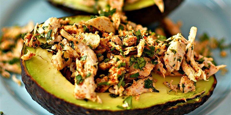 mexi chicken avocado cups recipe