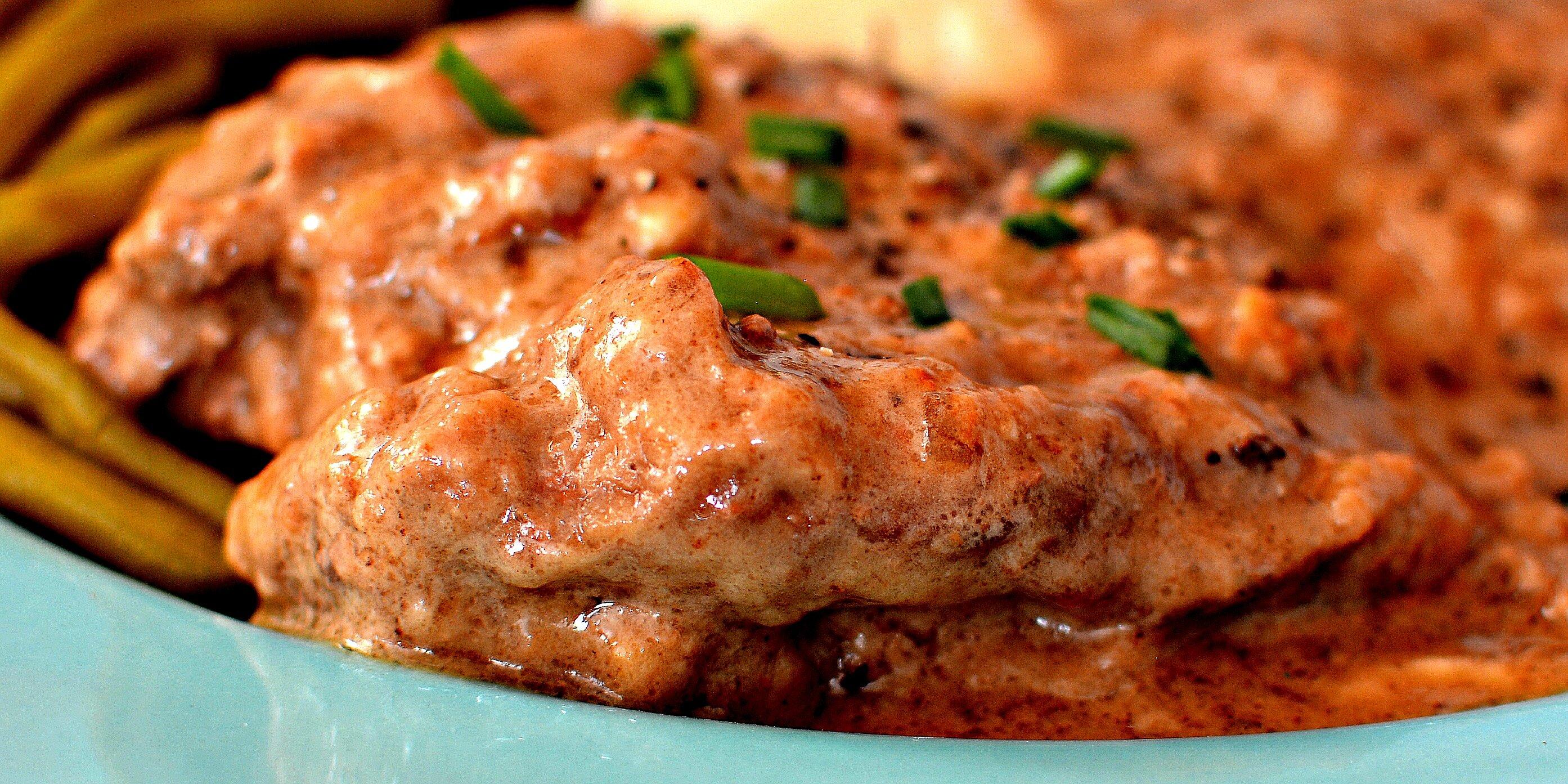 round steak and gravy recipe