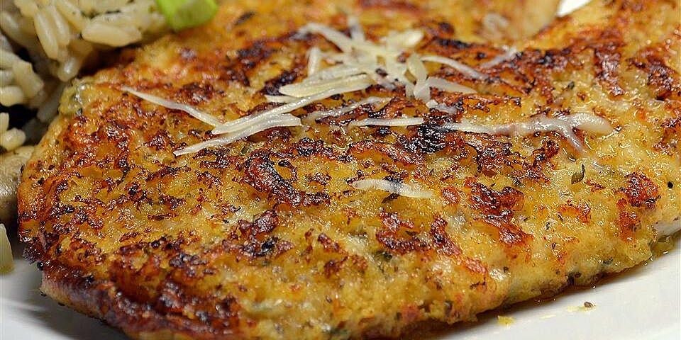parmesan crusted tilapia fillets recipe