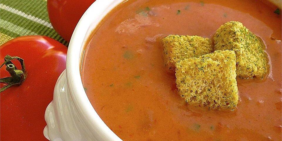 quick and easy cream of tomato soup recipe