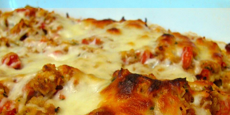 quick bruschetta chicken bake recipe