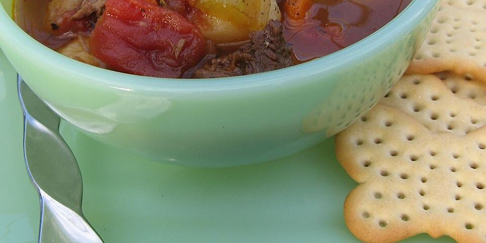 vegetable beef soup ii recipe