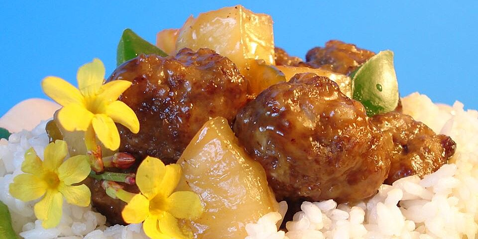 waikiki style meatballs recipe