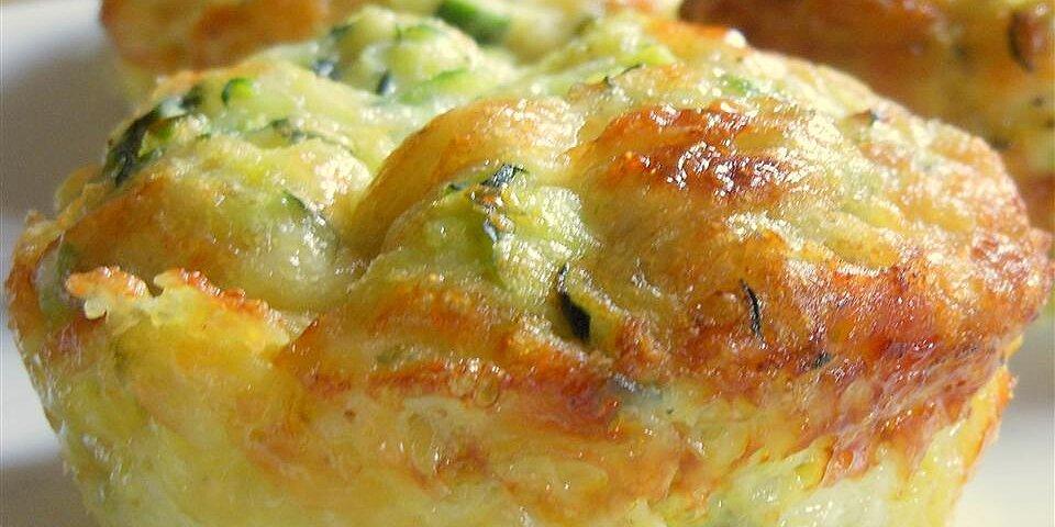 zucchini scallion frittata cups recipe