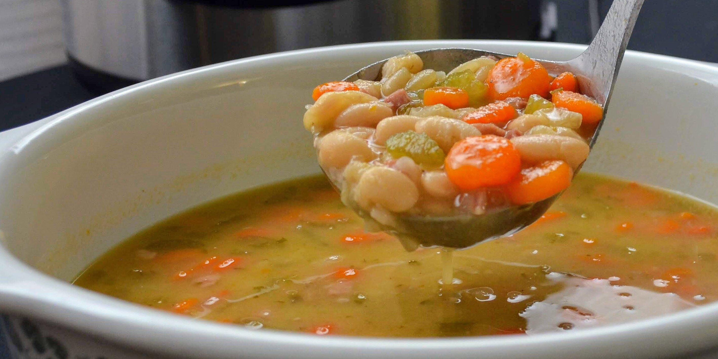 instant pot ham and bean soup recipe