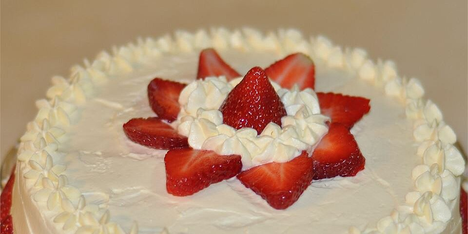 whipped cream mousse frosting recipe