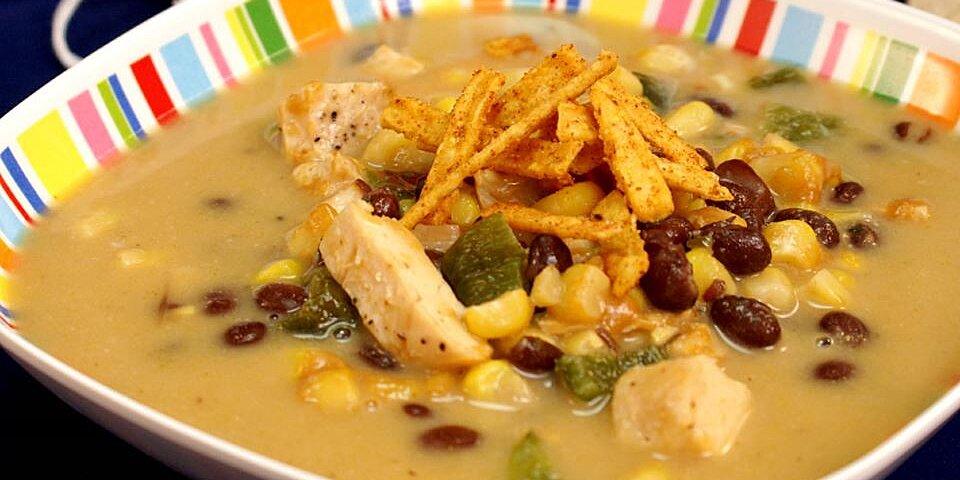cheesy chicken poblano chowder recipe