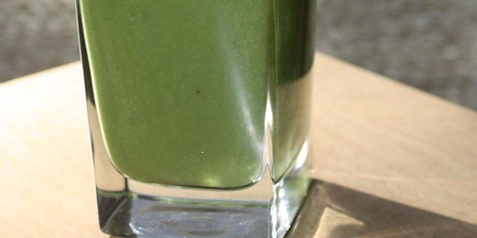 breakfast banana green smoothie recipe