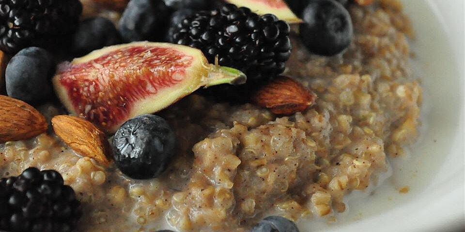 brown rice breakfast porridge recipe