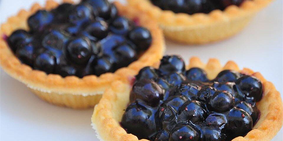 topless blueberry pie recipe