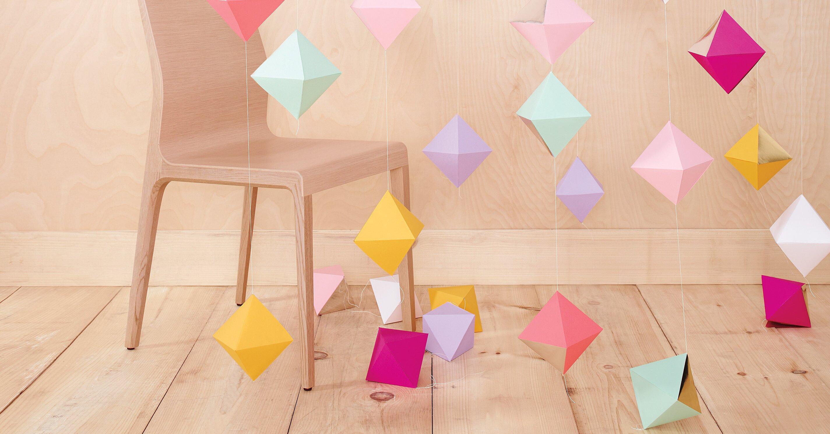 10 DIY Origami Ideas for Your Wedding | Martha Stewart Weddings | 1490x2848