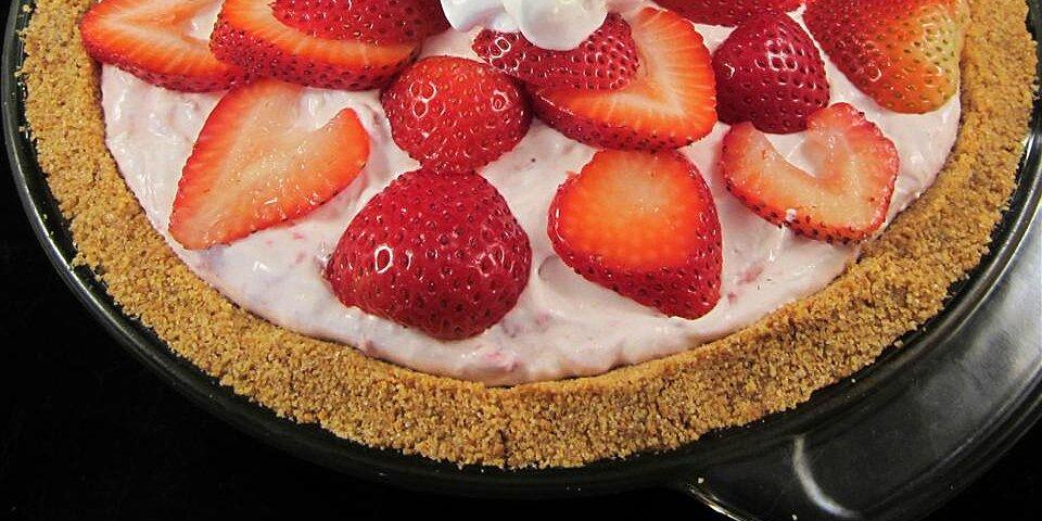 dandans strawberry cream pie recipe
