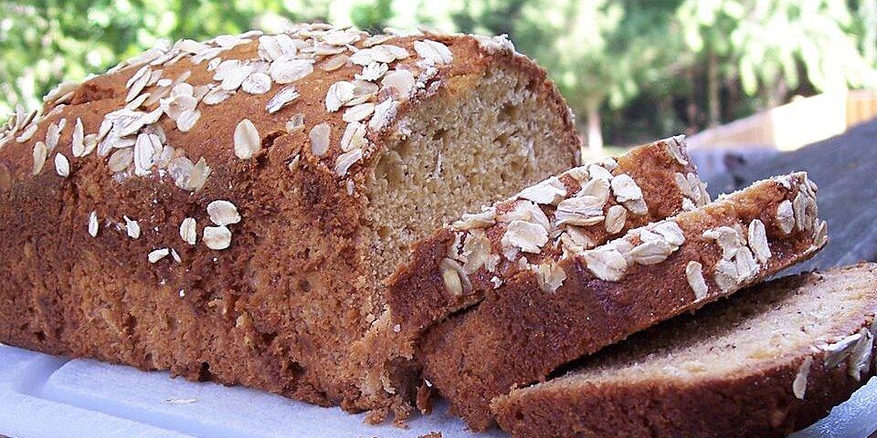 oatmeal banana nut bread recipe