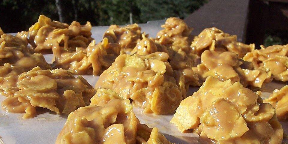 gramas corn flake peanut butter cookies recipe